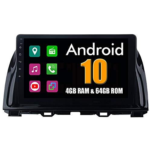 Roverone 10,2 Pouces Android 6.0 Octa Core Autoradio lecteur GPS de voiture pour Mazda CX5 CX-5 2013 2014 2015 avec navigation radio stéréo Bluetooth Mirror Link Full écran tactile