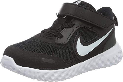 Nike Revolution 5, Walking Shoe Unisex-Child, Black/White/Anthracite