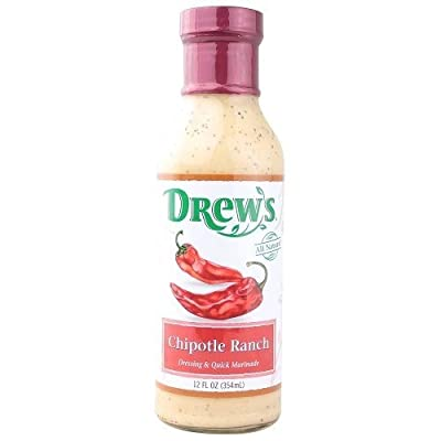 Drew's All Natural Dressing Chipotle Ranch - 12 fl oz
