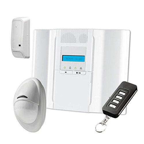 Alarmsysteem met 64 zones met DSC WP8030, GSM-combinator en PowerG-technologie.