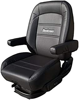 Bostrom Pro Ride Low-Profile Mid-Back Seat - Black Ultra-Leather