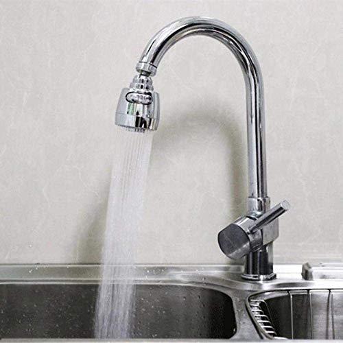 LANZHEN-RY 360 Grados giratoria Grifo de la Cocina Cabezal de Ducha, doblado Ahorro del Agua de Grifo de baño Grifo Grifo aireador difusor de la Boquilla, el Filtro