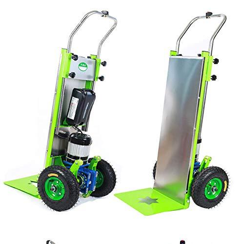 YBSY Carro eléctrico Plegable de 800 W para Subir escaleras, Carro de...