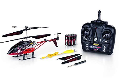 CARSON 500507134 - Metal Beast 230 2.4G 100% RTF,Ferngesteuerter Koaxial-Helikopter mit USB-Ladekabel, Flugfertiges Modell,RC Helikopter,inkl. Batterien und 2,4 GHz Fernsteuerung,100% flugfertig