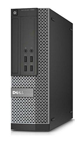 DELL OptiPlex 7020 3,3 GHz 4ª generación de procesadores Intel® Core™ i5 i5-4590 Negro, Plata SFF PC - Ordenador de sobremesa (3,3 GHz, 4ª generación de procesadores Intel® Core™ i5, 8 GB, 1000 GB, DVD±RW, Windows 8.1)