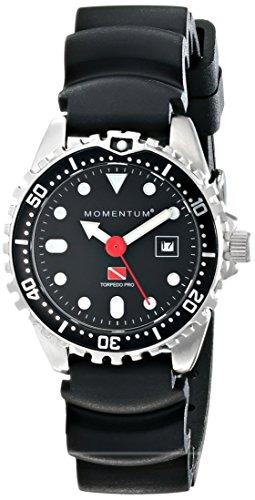 Momentum Reloj Análogo clásico para Mujer de Cuarzo con Correa en Caucho 1M-DV45B1B