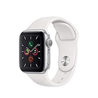 Apple Watch Series 5 (GPS, 40mm) - Gold Aluminum Case with Pink Sport Band (B07XQXZZ6H)   Amazon price tracker / tracking, Amazon price history charts, Amazon price watches, Amazon price drop alerts