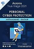 Acronis True Image 2021 – Ciberprotección personal | Copia de seguridad y antivirus integrados | Android/iOS | Standard Perpetual Edition - 1 User | PC/Mac | Código de activación enviado por email