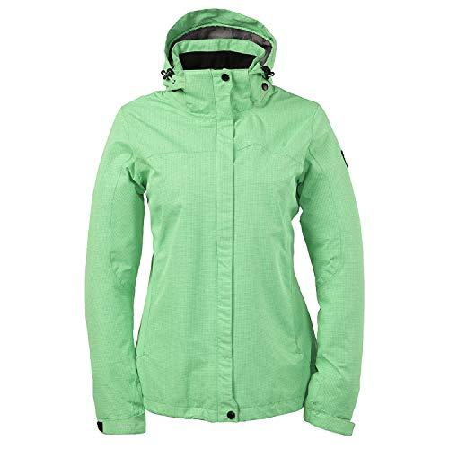 Killtec dames regenjas functionele jas voor herfst windbreaker ademend waterdicht ultralicht en waterdicht in grote maten met capuchon in vele kleuren Inkelea
