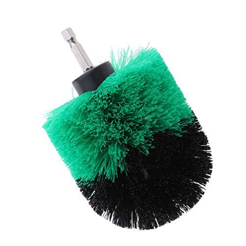 Buy joyMerit 1PC Tile Grout Cleaning Drill Brush Scrub Brush Drill Attachment Drillbrush - Green Med...