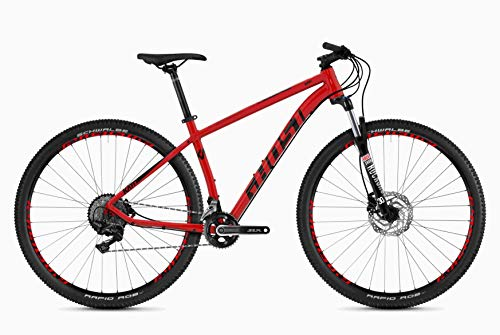Ghost Kato 7.9 AL U 29R Mountain Bike 2020 (XL/54cm, Riot Red/Night Black)