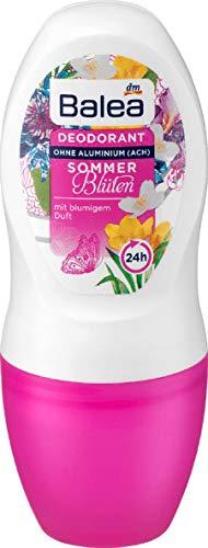 Balea Deo Roll-On Deodorant Sommerblüten, 1 x 50 ml