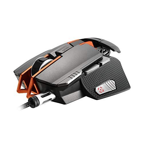 Cougar Mouse da Gioco Laser 700M - Ambidestro - 8200 Dpi - 1000 Hz - Ottico - Sensore Avago Adns-9800 - USB - Led - Interruttori Omron - Nero