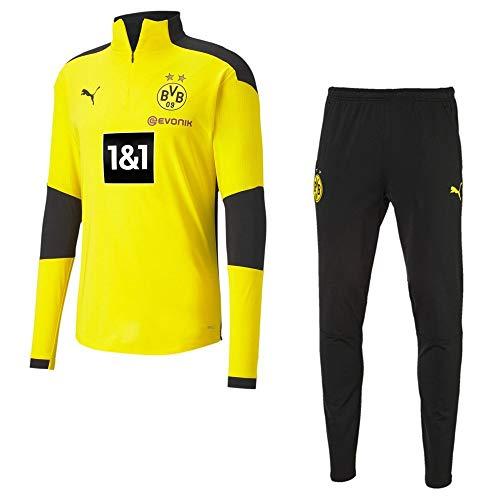 PUMA Borussia Dortmund Trainingsset 2020 Herren gelb schwarz Gr L