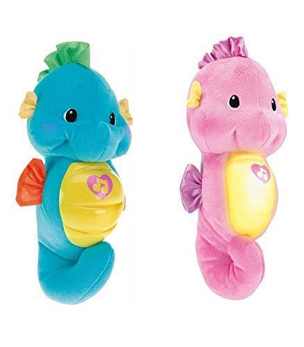 Fisher Price-O Cavalo-Marinho Hora de Dormir da brinquedo para bebê, Color surtido (Mattel DGH84)