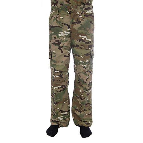 Highlander Jungen Hose MTP Camouflage 11-12 Jahre