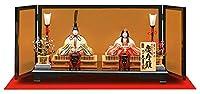 雛人形 久月 ひな人形 雛 木目込人形飾り 平飾り 親王飾り 真多呂作 慶寿雛 正絹 本金佐賀錦 伝統的工芸品 h033-k-92300-6k K-41