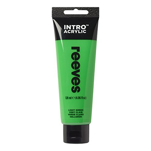 Reeves - Pintura acrílica Reeves Intro - 120 ml, Verde Claro