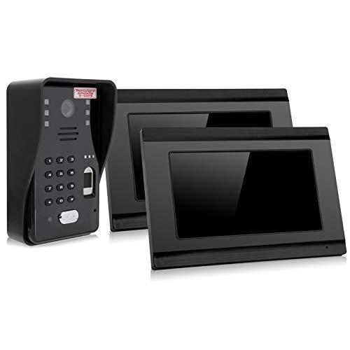 DAUERHAFT El Sistema de Control de Acceso inalámbrico WiFi 99 teledirigido desbloquea 500 Huellas Dactilares(European regulations)