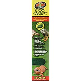 """Zoo Med Eco Cage Carpet for 55 Gallon tanks, 13""""x48"""""""