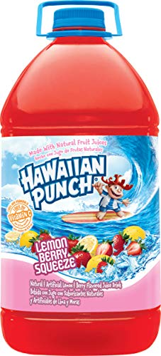 Hawaiian Punch, Lemon Berry Squeeze, 128 Fluid Ounce