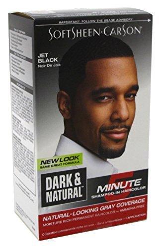 Dark & Natural Color Men Jet Black (6 Pack) by Dark & Natural