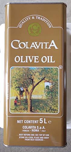 コラビータ オリーブオイル ピュア オイル 5LX4缶 業務用 イタリア産