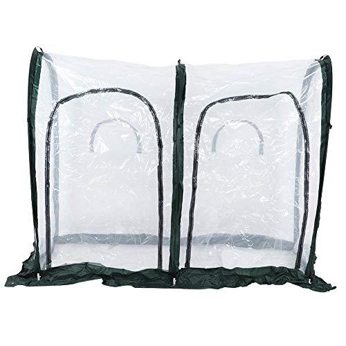 WAQU Tenda da Giardino, 200x100x150cm Giardino Esterno Serra Tunnel Rimovibile Piante Tenda Grow Tenda Accessori da Giardino