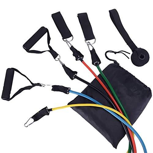 Lamp Hold Widerstandsband, Indoor Sport Arm & Beine Krafttraining Widerstandskabel Rallye Seil Zugseil Für tägliches Training, Yoga (11 Stück)