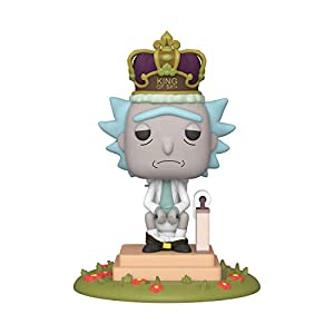 Funko Pop Rick Rey de la Mierda (Rick & Morty 694) Funko Pop Rick & Morty