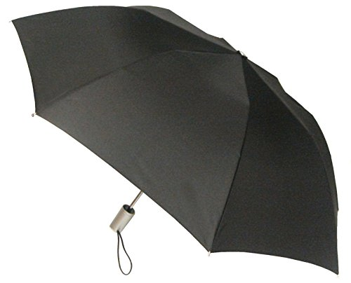 London Fog Auto Open Umbrella, Black