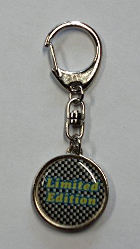 Porte-clé métal Limited Edition 95 x 35 mm motif bilatéral