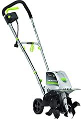 """Earthwise tiller with a powerful 8.5-Amp electric motor with superb run time and service life Corded electric tiller ideal for small to medium-sized gardens 4 tine cultivator long handle that can cultivate and till up to 11"""" wide and 8"""" deep Lightwei..."""