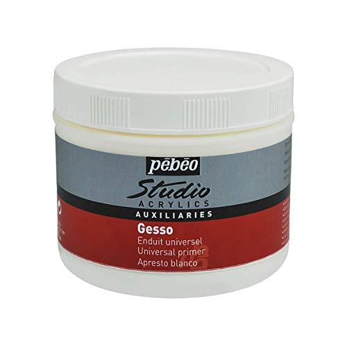 Pebeo 524102 Acrylic Studio Gesso - Pintura acrílica (500