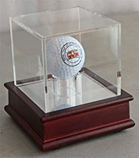 featured product Display Stand Golf Ball Display Case for a Trick or Novelty Golf Ball (Ball not Included), GB13