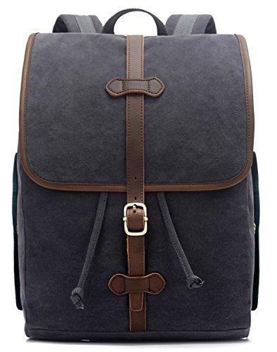 EverVanz Schulrucksack beiläufiger Rucksack im Freienrucksack mit 15.6 Zoll Laptopfach für Uni Schule A4 Ordner