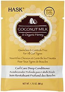Hask Coconut Milk & Honey Curl Care Deep Conditioner - 1.75 Oz, 1.7 Oz