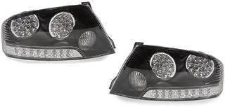 DEPO 2003-2006 Mitsubishi Lancer Evolution EVO 8/9 JDM Style Black / Clear LED Tail Lights Set