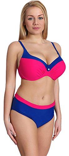 Merry Style Damen Bikini Set P190-65TSG (Muster-6, Cup 95 C/Unterteil 46)