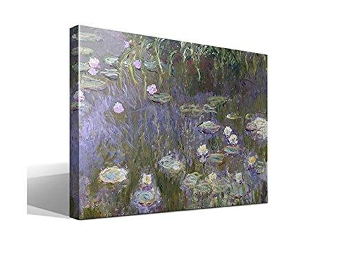 Cuadro Canvas Nenúfares de Oscar Claude Monet - 70cm x 95cm