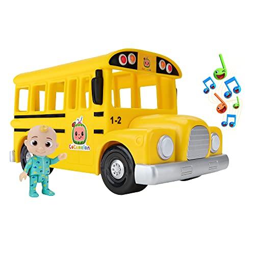 CoComelon Musical Yellow School Bus ,WT80113
