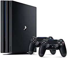 Sony PlayStation 4 Pro 1TB Console (Black) with Extra Controller - International Version