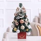 FFAN Árboles de NavidadIth Lights Minas Trees preItItMulti Colour Lights Escritorio Table Top DecorationIth Adornos y Adornos 45cm / 60cm, D Good Life