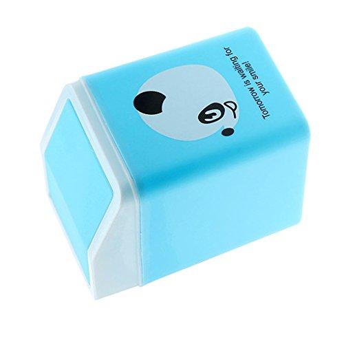 Cubo de Basura con Tapa de Cierre Abatible de Dibujos Animados - Oso, Individual