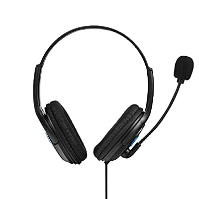 Mr.Gadget Solutions Branded Wired Gaming Headset Headphone with Microphone for Sony Playstation 4 PS4 from Mrgadget Solutions