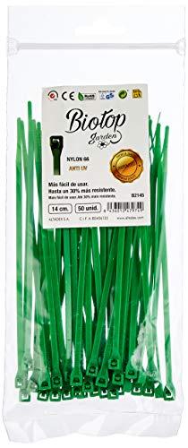 Biotop Bridas o ataduras para jardín, 50 Unidades, 14 cm x 3...