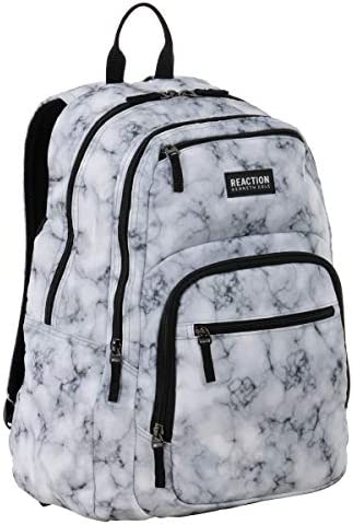 Kenneth Cole Reaction Printed Dual Compartment 16 Laptop Tablet Backpack for School Travel Work product image