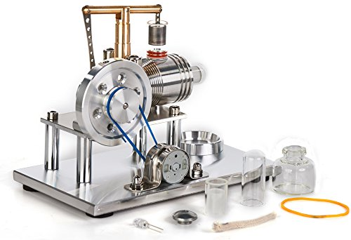 Sunnytech Hot Air Stirling Engine Motor Model Educational...