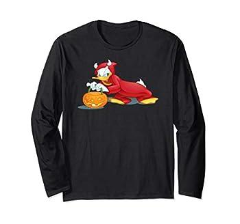 Disney Halloween Donald Duck Devil Long Sleeve T-Shirt