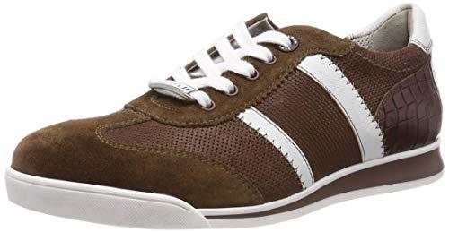 LLOYD Herren Argon Sneaker, Braun (Cigar/Bianco/Cigar/Marrone 5), 44.5 EU